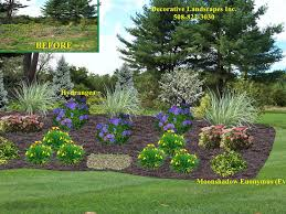Small Picture Front Yard Landscape Designs in MA Decorative Landscapes Inc