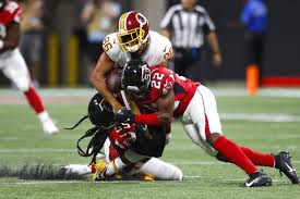 Falcons Running Back Depth Chart Redskins Falcons Takeaways Jordan Reed In Concussion