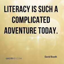 Literacy Quotes Beauteous David Booth Quotes QuoteHD