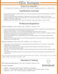 Examples Of Administrative Resumes Awesome Sample Resume For Executive Secretary Position Resumes Assistants