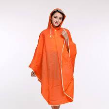 poncho raincoat motorcycle poncho one size fits all h 899 orange