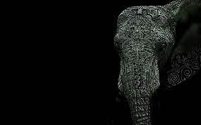 Tattooed elephant Wallpaper #6529 ...