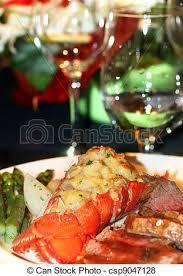gourmet lobster dinner. Modren Lobster Lobster Dinner  Csp9047128 Inside Gourmet P