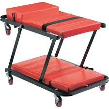 Lettino con ruote per meccanico: lettino per esterno camille in