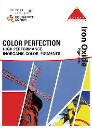 Cathay Industries Colour Chart Colorant Corea