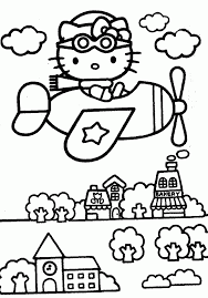 And printable hello kitty coloring pages present her in many lifetime scenes and interesting adventures followed by children all over the world. Free Printable Hello Kitty Coloring Pages For Kids