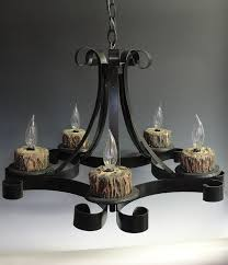 awesome wrought iron chandeliers wrought iron chandeliers rustic black iron chandeliers with woods candle