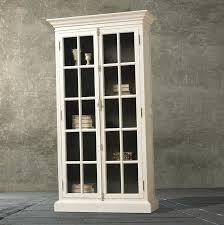 elegant antique white bookcase with