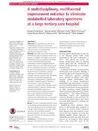 Cedars Sinai Organizational Chart Pdf A Multidisciplinary Multifaceted Improvement