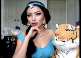 was wrong you can grow up to look like a disney princess jasmine from aladdin promise nailed jasmine s cat eye and high cheekbones in this tutorial
