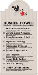 husker power strength and