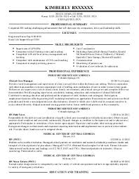 Air Force Resume Template