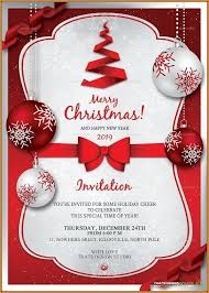 Free Christmas Invitation Templates For Word Magdalene