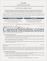Event Coordinator Resume Template Example Free Resume Examples