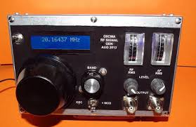 g0cwa rf signal generator front panel view
