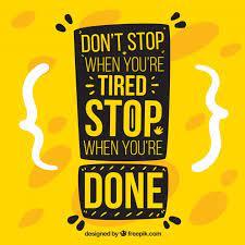 Premium Vector | Motivation quote in yellow color