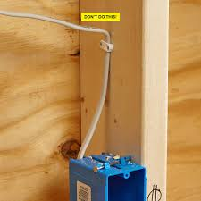 electrical rough in tips construction pro tips an overbent cable construction pro tips