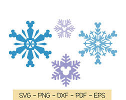 Download now the free icon pack 'snowflakes'. Mickey Snowflake Svg Etsy