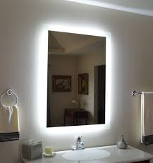 bathroom vanities mirrors and lighting. Furniture: Amazing Design Ideas Light Up Bathroom Mirrors With Lights Fresh Within Backlit Vanity Mirror Vanities And Lighting