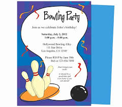 Bowling Party Invite Template Unique Free Printable Bowling
