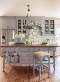 French Country Kitchen Island Design Ideas Pertaining To French Kitchen  Island Table Prepare ...