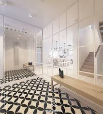 geometric floor design Interior Design Ideas