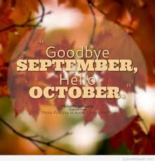 goodbye september hello october background