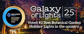 galaxy of lights huntsville botanical