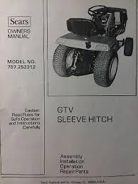 sears craftsman gtv garden tractor
