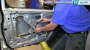 how to install replace front power window regulator 1998 04 nissan how to install replace front power window regulator 1998 04 nissan frontier and xterra