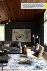 accent wall lighting. Living Room - When Styling A Space With Dark Walls \u0026 Ceiling (love The Wood Ceiling), Choose Light Pieces Of Furniture Accessories. Accent Wall Lighting C