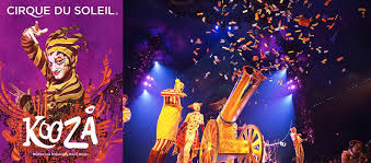 Cirque Du Soleil Kooza Grand Chapiteau At Lot E Dallas