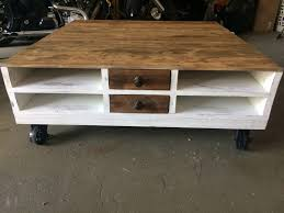 Coffee Tables Out Of Pallets Pallet Furniture