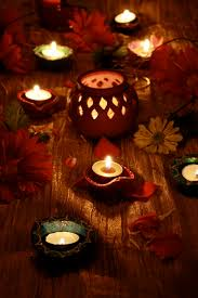 Small Picture Diwali Decor Ideas Lamps Diyas lanterns flowers rangoli