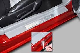 car door jamb. Amazon.com: XPEL Clear Universal Door Sill Guard (60\ Car Jamb T