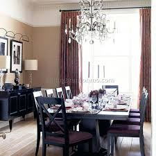 dining room drapes ideas curtain photos bay window treatment modern .