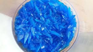 reaction between copper sulfate and