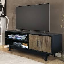Ebern Designs Nyle Glass 60 Tv Stand