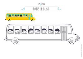 Coloriage Bus Scolaire Momes Net