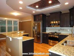 Dark Kitchen Cabinets With Light Granite Unique Light Granite Countertops With Dark Cabinets Granite With Dark