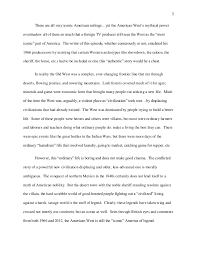 reflective essay doctor who and the american west  6