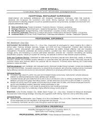 Restaurant Manager Resume Skills Restaurant Manager Resume Sample Format Mmventures Co
