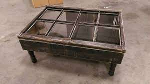 rustic coffee table shadow box coffee table by