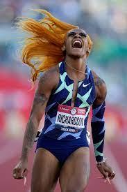 2021 Olympics U.S. sprinter Sha'Carri ...