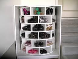 closet lazy susan shoe rack home design ideas
