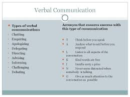 barriers to communication interpersonal skills  verbal communication types of verbal