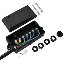 conntek 10110 bx series 7 way pre wired trailer junction box cord 7 way cord wired junction box