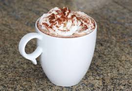cup of hot chocolate with whipped cream. Wonderful Hot On Cup Of Hot Chocolate With Whipped Cream H