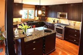 wood laminate kitchen countertops gray cabinet kitchen with wooden top kitchen with dark cabinets stainless steel