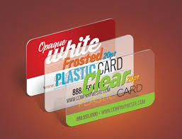 Plastic Business Cards Printed By Xpresscolor Print Center In
